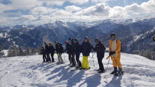 Heyo vakantiekampen ski en snow Kleinarl 1