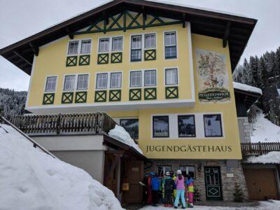 Heyo vakantiekampen ski en snow Kleinarl 3