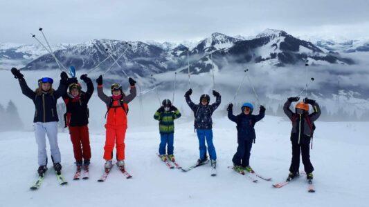 Heyo vakantiekampen ski tot in de achtertuin groep 1