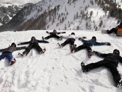 Heyo vakantie kampen snowboarden dolomieten