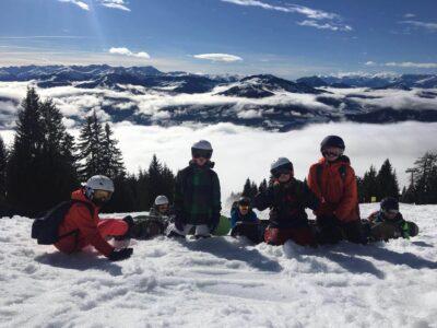 Heyo vakantie kampen snowboarden in de dolomieten